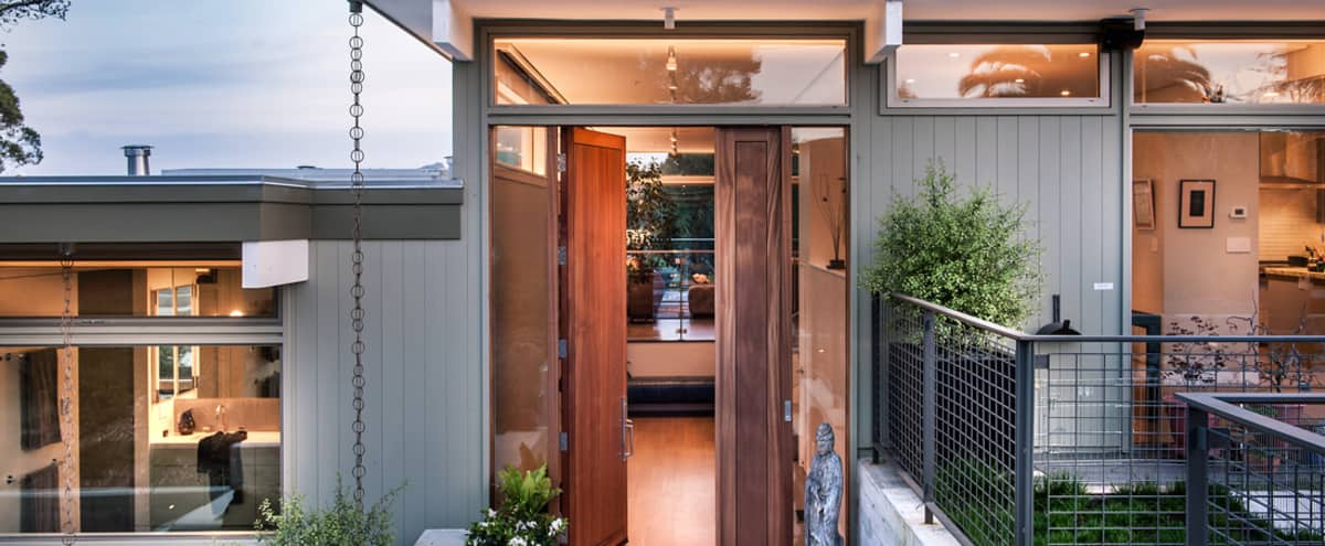 Warm, Elegant Mid-century Modern Home in Mill Valley Hero Image in undefined, Mill Valley, CA