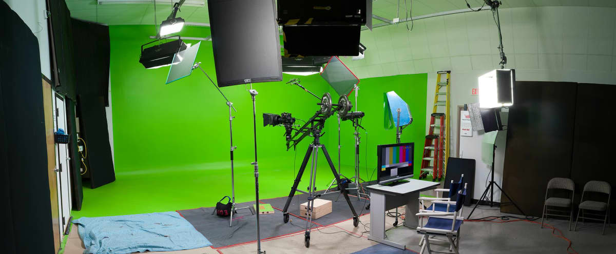 Fully Equipped Green Screen Studio in Charlotte in Charlotte Hero Image in undefined, Charlotte, NC