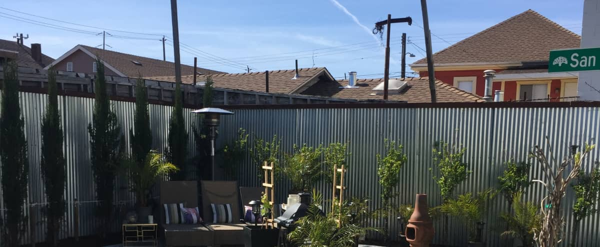 Amazing Urban Oasis Yard in Oakland Hero Image in Coliseum Industrial, Oakland, CA