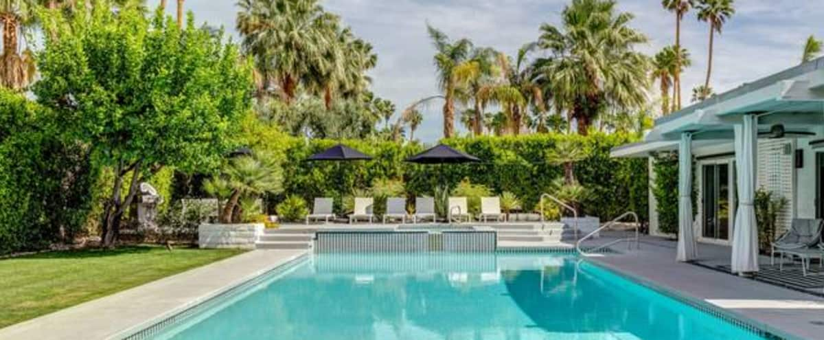 Modern and Chic Palm Springs Home with Large Pool in Palm Springs Hero Image in undefined, Palm Springs, CA
