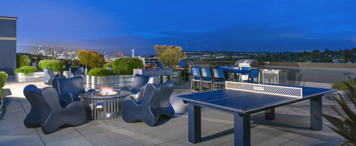 Stunning Rooftop Deck for Photo Shoots (K) in Seattle Hero Image in Northeast Seattle, Seattle, WA