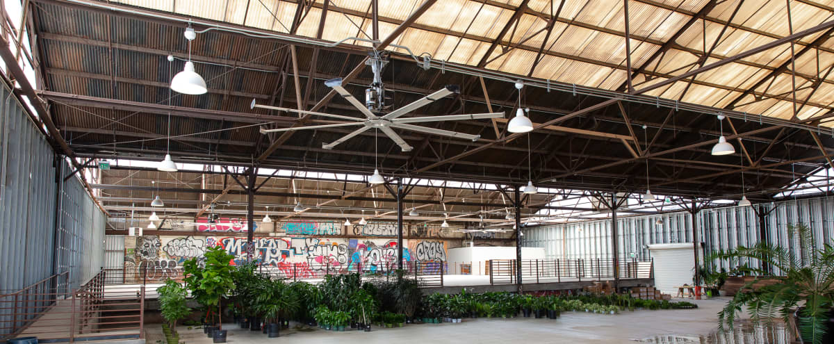 Urban Green Space   Multipurpose downtown large Greenhouse in Los Angeles Hero Image in Central LA, Los Angeles, CA