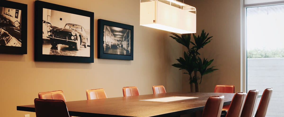 Light and Spacious Executive Conference Room in Nashville in Nashville Hero Image in North Gulch, Nashville, TN