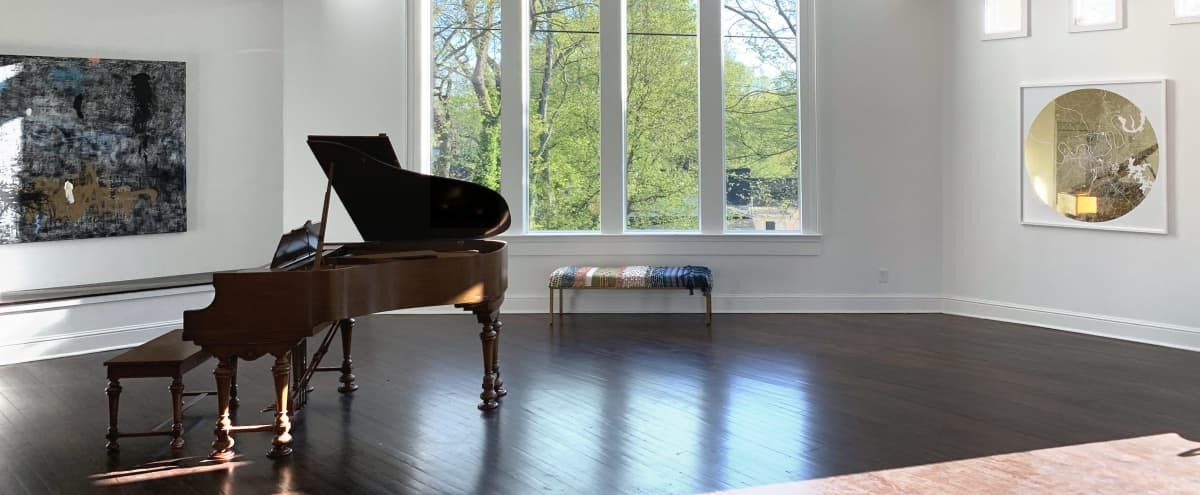 Sophisticated Large Event Space with Bar, Piano and an Incredible Kitchen in Nashville Hero Image in Historic Waverly, Nashville, TN
