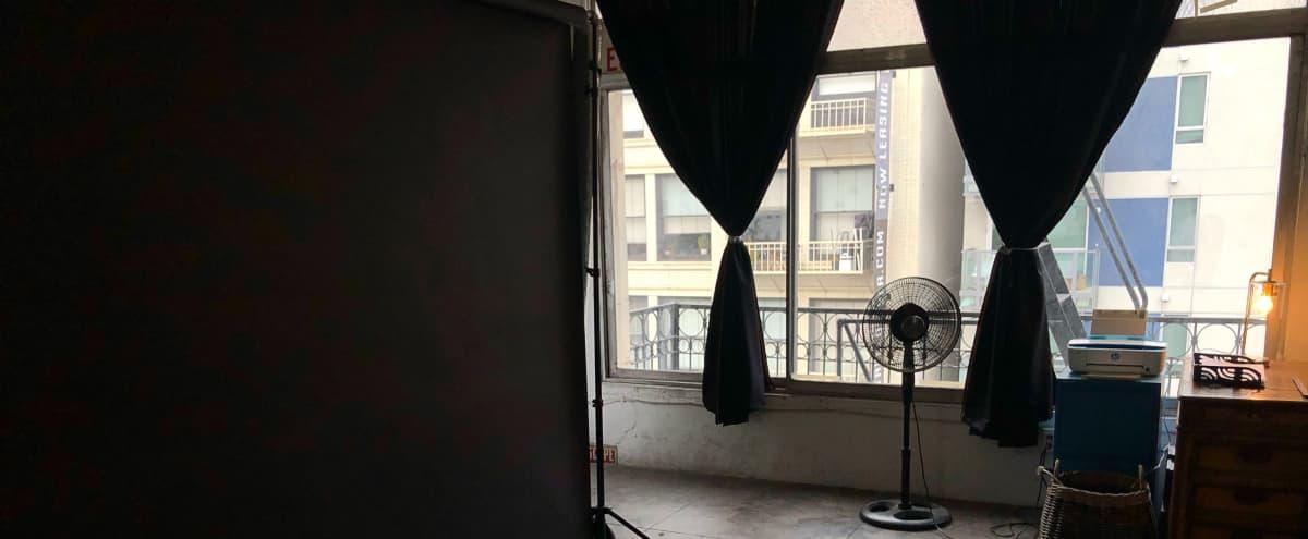 Downtown Studio with North Facing Windows in Los Angeles Hero Image in Central LA, Los Angeles, CA