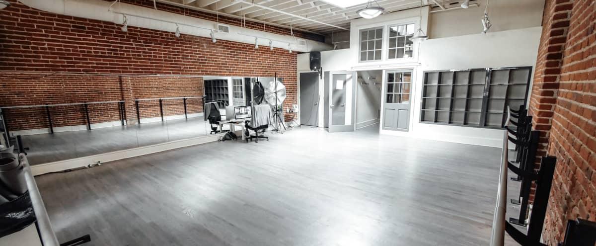 Industrial Style Dance Studio - Downtown Denver - Studio B in Denver Hero Image in Ballpark, Denver, CO