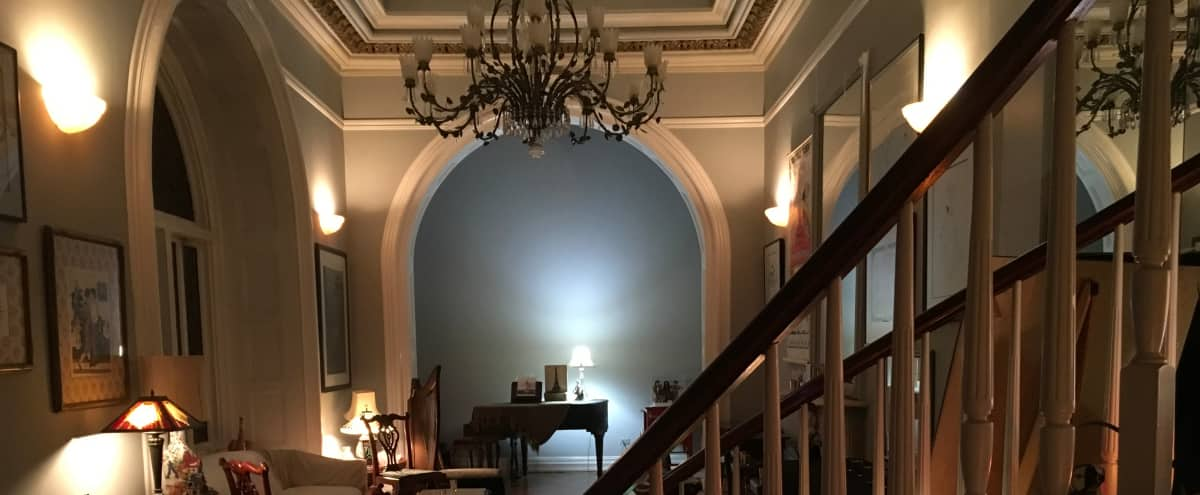 Landmarked Mansion in the very heart of  Greenwich Village with Breathtaking Ballroom, a Museum, and More! in New York Hero Image in Lower Manhattan, New York, NY