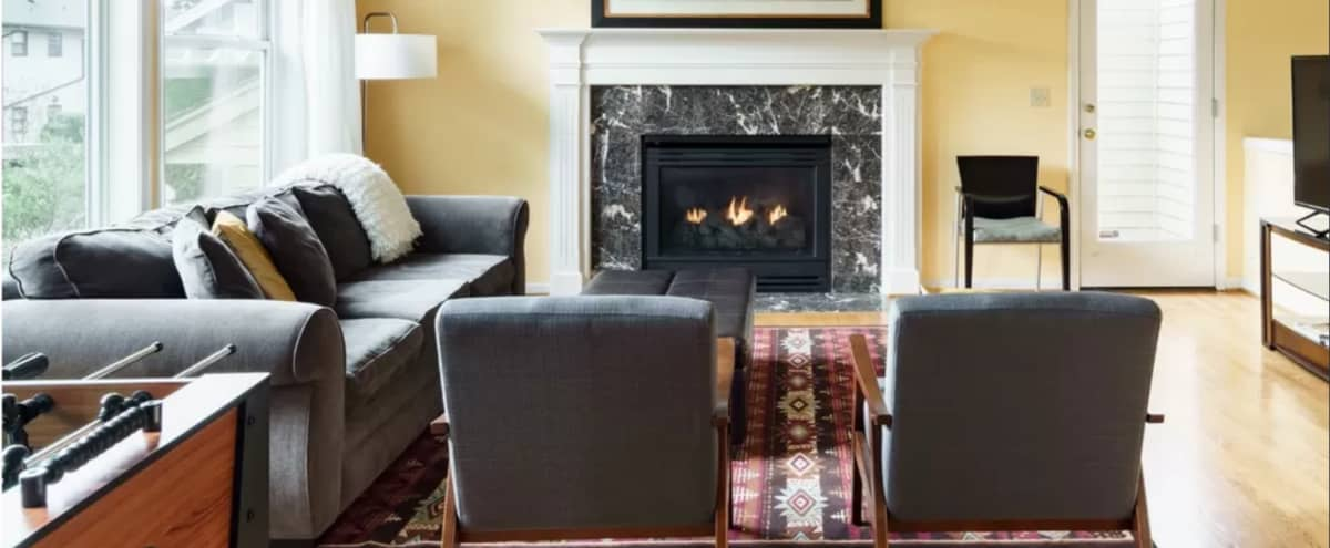 Delightful Ocean View Retreat near City Center and Cruises in Seattle Hero Image in West Queen Anne, Seattle, WA
