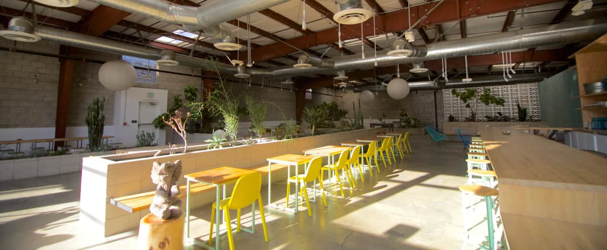 14k Sqft Downtown Urban Spa, Full Restaurant and Yoga Studio in Los Angeles Hero Image in Central LA, Los Angeles, CA