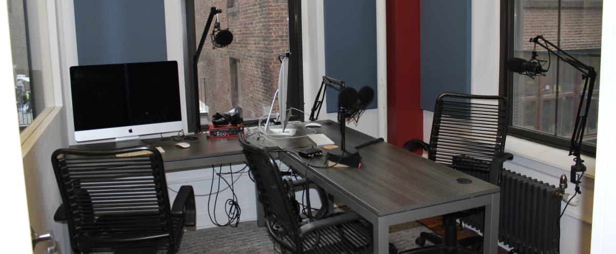 Chelsea podcast/recording studio in New York Hero Image in Midtown Manhattan, New York, NY