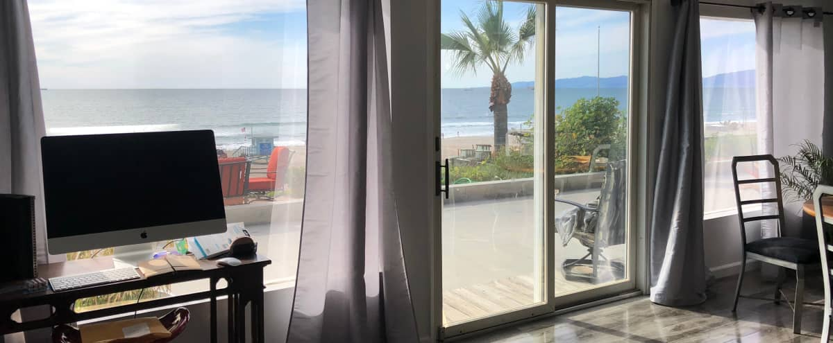 One Bedroom Beach Front Property with Patio and amazing views! Beach Access. in Manhattan Beach Hero Image in undefined, Manhattan Beach, CA