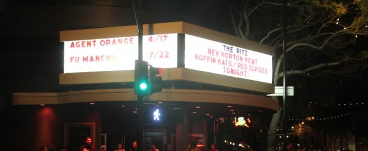 Music Venue in Downtown San Jose in San Jose Hero Image in Central San Jose, San Jose, CA