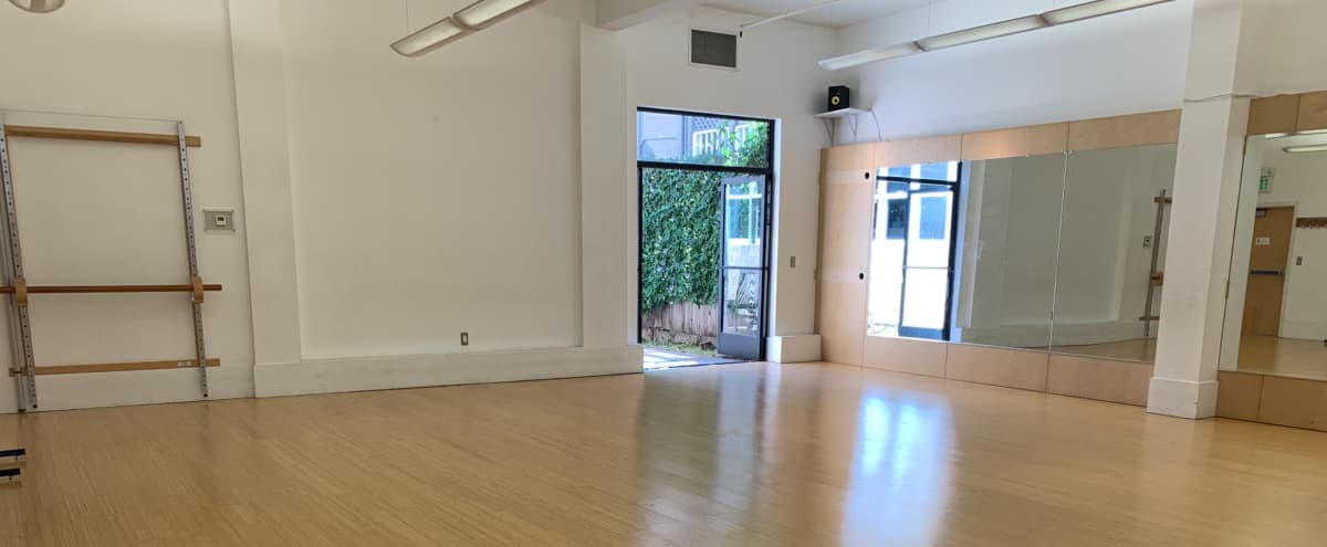 Piedmont shopping district ,  large -open studio with attached courtyard in Oakland Hero Image in Piedmont Avenue, Oakland, CA