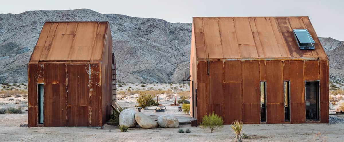 Architectural Desert Cabin in Twenty Nine Palms Hero Image in undefined, Twenty Nine Palms, CA