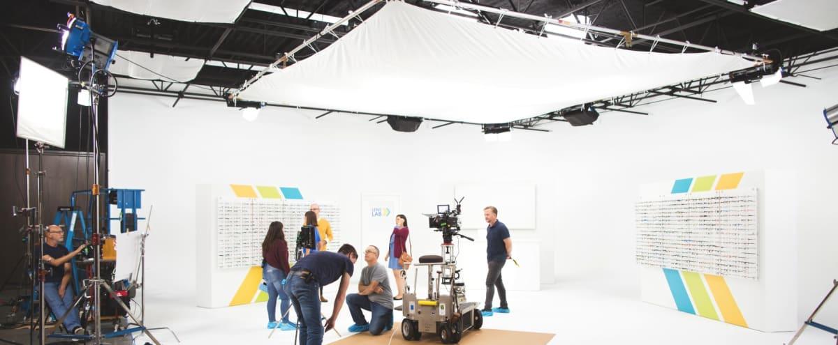 Massive Sound Treated Production Studio with Cyc Wall | Studio A in Dallas Hero Image in Lake Highlands, Dallas, TX
