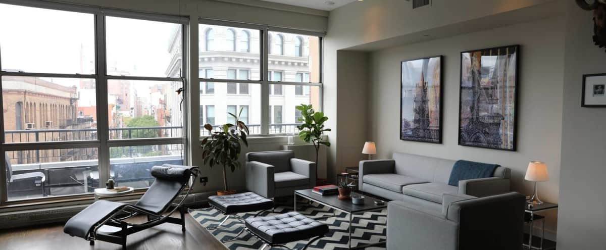 Rare, Large Sunny Loft - Premier Downtown Location in New York City Hero Image in Lower Manhattan, New York City, NY