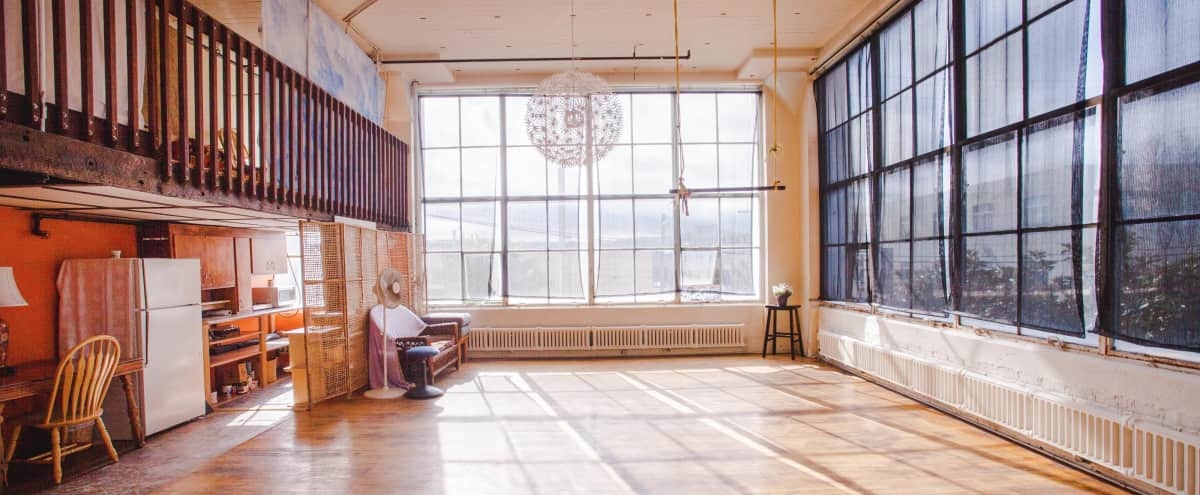 Sunlit Studio for Yoga | Ballet Space Rental in San Francisco Hero Image in Mission District, San Francisco, CA
