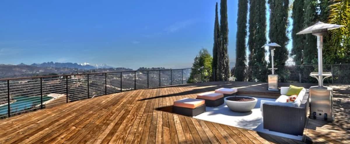 Beautiful Bel Air Modern House with Spectacular View in Los Angeles Hero Image in Bel Air, Los Angeles, CA