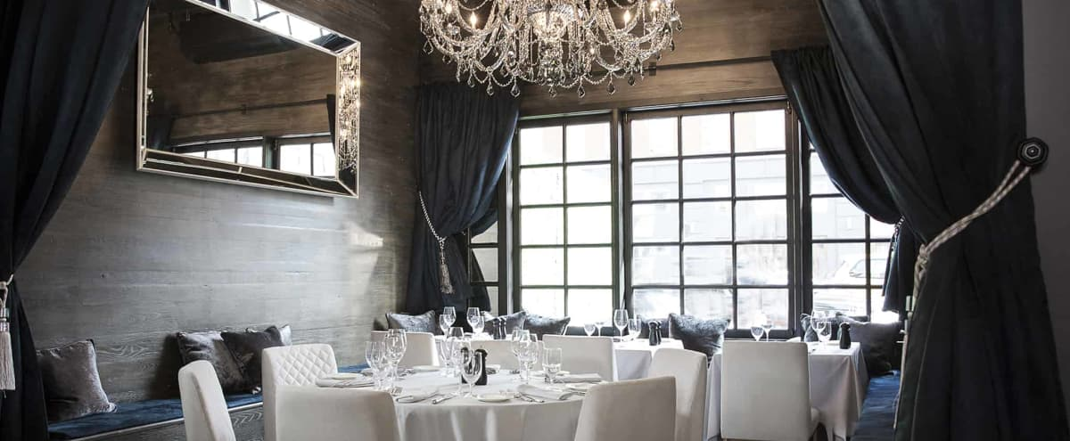 Luxurious Restaurant & Lounge For Corporate Off-Sites in new york Hero Image in Chelsea, new york, NY
