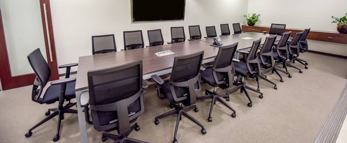 Equipped Boardroom for up to 18 in San Diego Hero Image in Downtown, San Diego, CA