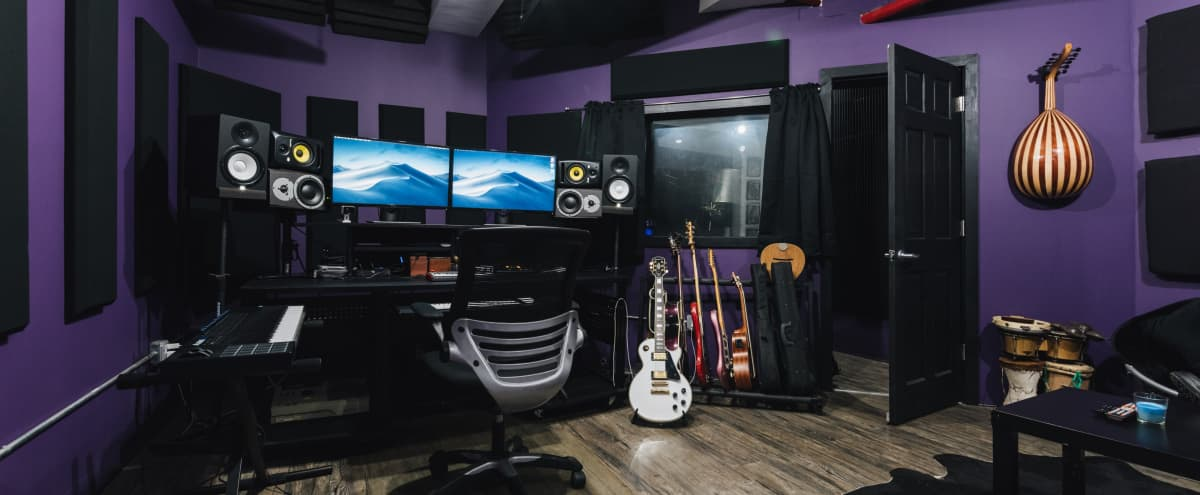 Downtown Brooklyn Recording Studio with top notch gear in Brooklyn Hero Image in Clinton Hill, Brooklyn, NY