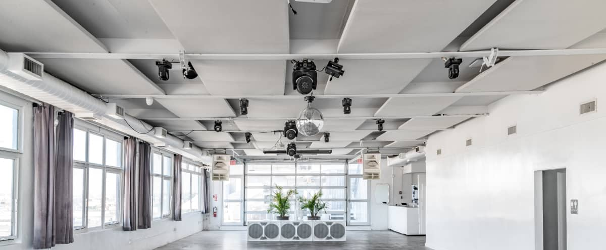 Photo Shoot (Monday - Friday) Day Time Pricing $200 an hour, A clean open space in the heart of East Williamsburg's industrial area. Great for private events and photo shoots in Brooklyn Hero Image in East Williamsburg, Brooklyn, NY