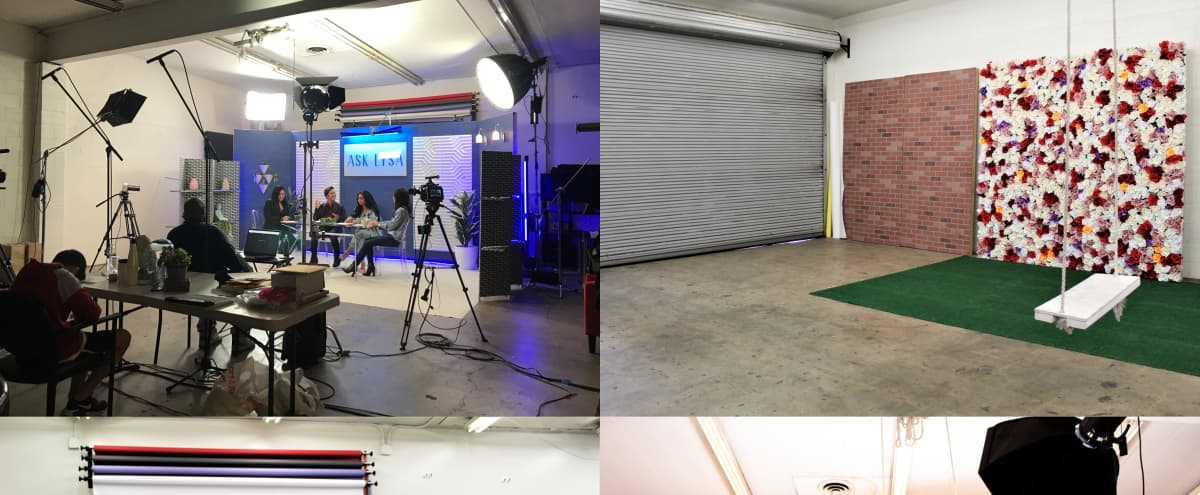 Studio with flats, backdrops, props, set dec, strobe lights and more in Panorama city Hero Image in Van Nuys, Panorama city, CA