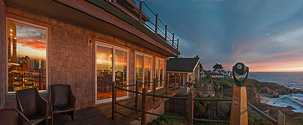 Elegant Oceanfront Designer Space w/ Floor-to-ceiling Ocean Views in Montara Hero Image in undefined, Montara, CA