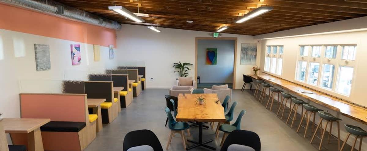 Modern, vibrant, roomy event space with outdoor patio in Berkeley Hero Image in Southwest Berkeley, Berkeley, CA