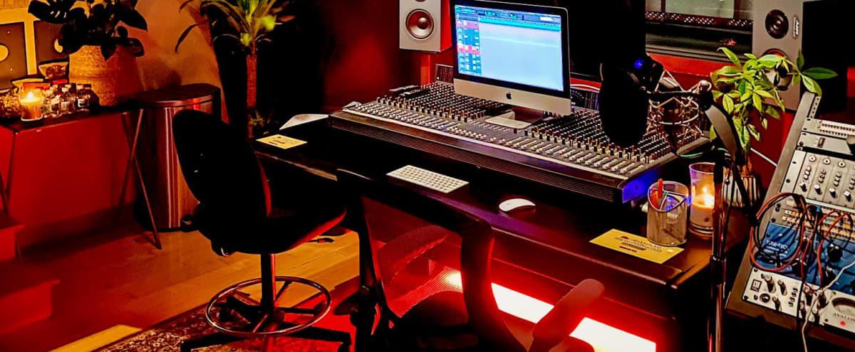 Music Recording Studio in Hills with Scenic View - Studio A in Studio City Hero Image in Studio City, Studio City, CA