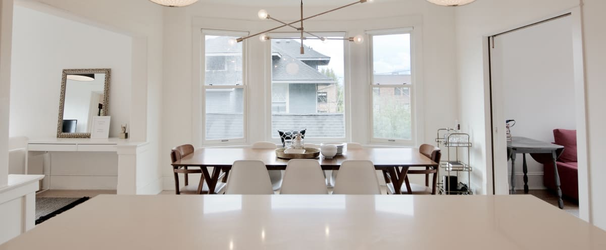 Light Filled Remodeled View Home in Urban Setting in Seattle Hero Image in Queen Anne, Seattle, WA