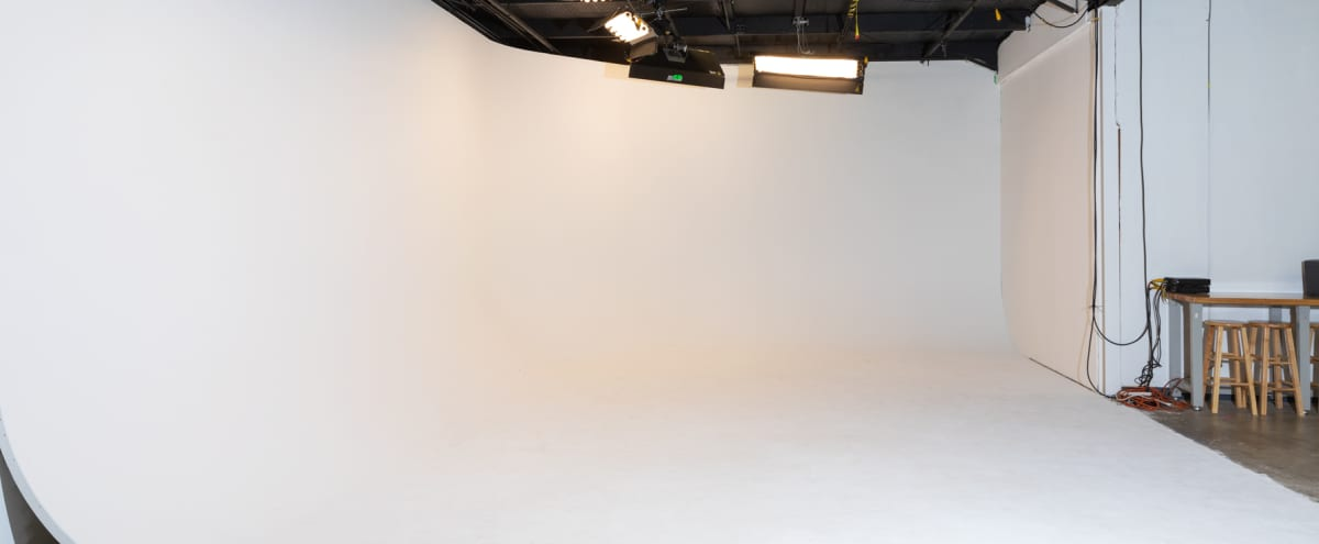 Production Studio with Cyc Wall in Austin Hero Image in Wooten, Austin, TX