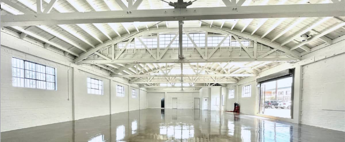 Gorgeous Bright White Warehouse Space in Los Angeles Hero Image in South Los Angeles, Los Angeles, CA