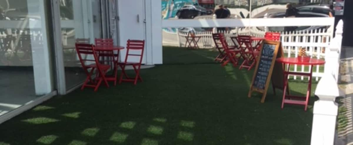 Fun, Inviting Outdoor Space on Sunset Blvd in West Hollywood Hero Image in Central LA, West Hollywood, CA