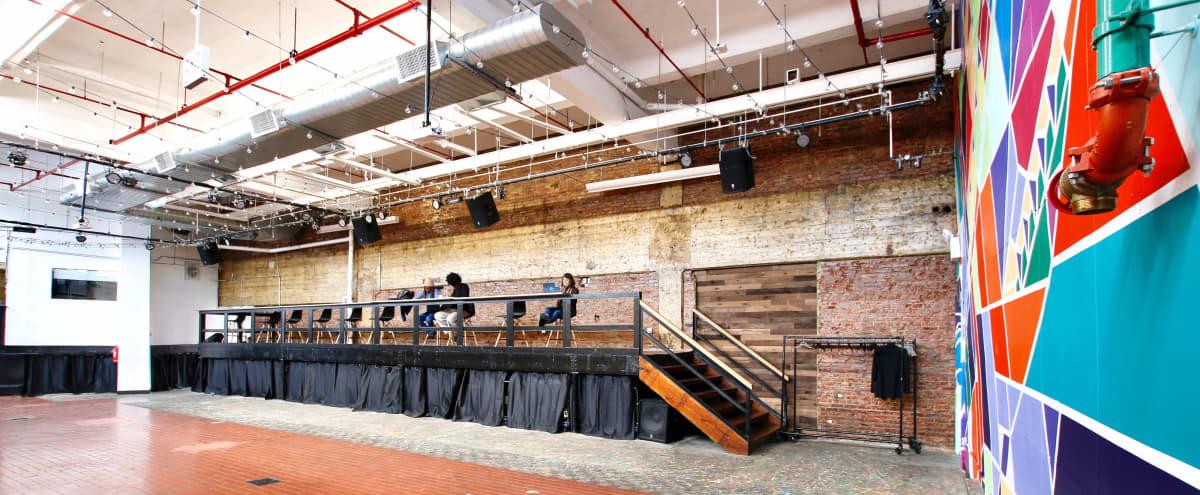 Exposed Brick Indoor Event Hall in Brooklyn Hero Image in Prospect Lefferts Gardens, Brooklyn, NY