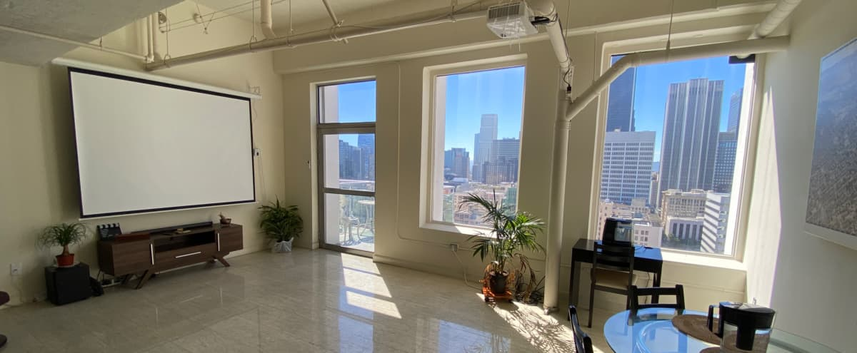 Urban Downtown Penthouse Loft With Skyline View in Los Angeles Hero Image in Central LA, Los Angeles, CA