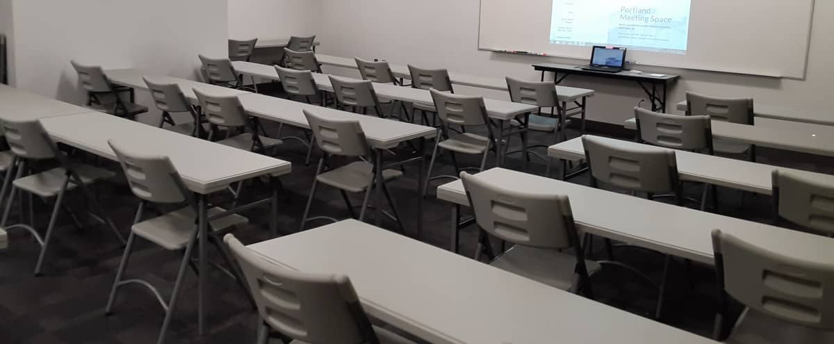Training Classroom with A/V | #4 in Portland Hero Image in Northeast Portland, Portland, OR