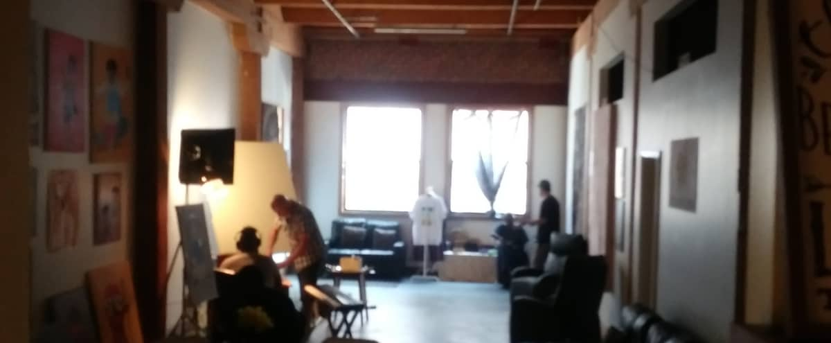 Downtown Artist Loft (Arts District); Large floor space and 3 private rooms in Los Angeles Hero Image in Central LA, Los Angeles, CA
