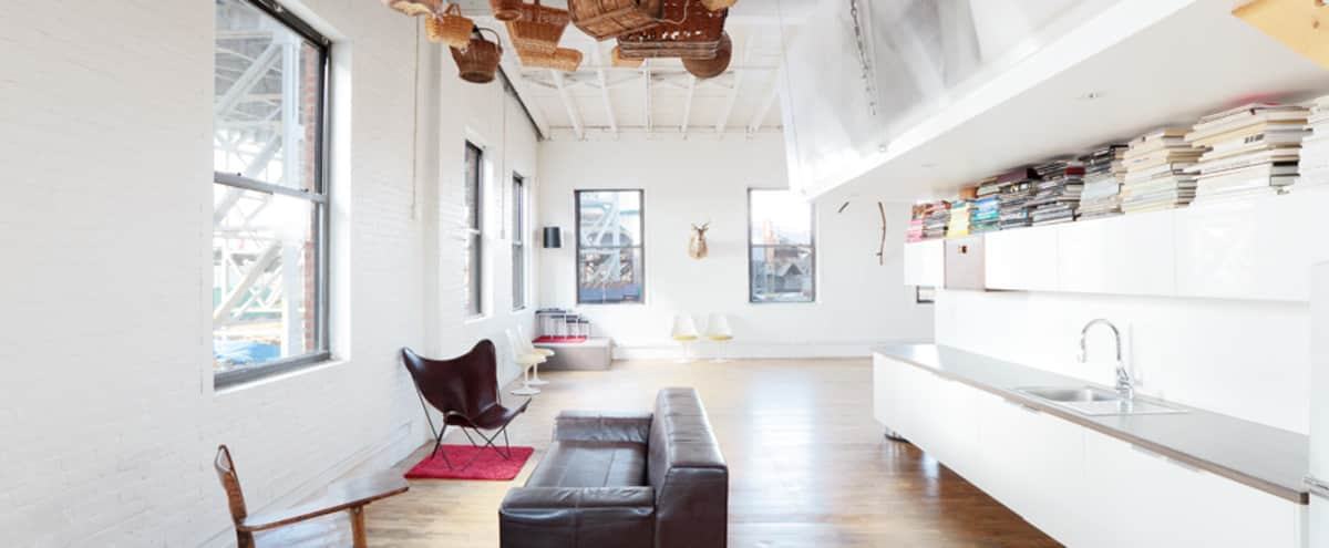 Perched atop the Gowanus Industrial Arts Complex —a sun-drenched, epic space for creatives to explore and express their ideas. in Brooklyn Hero Image in Park Slope, Brooklyn, NY