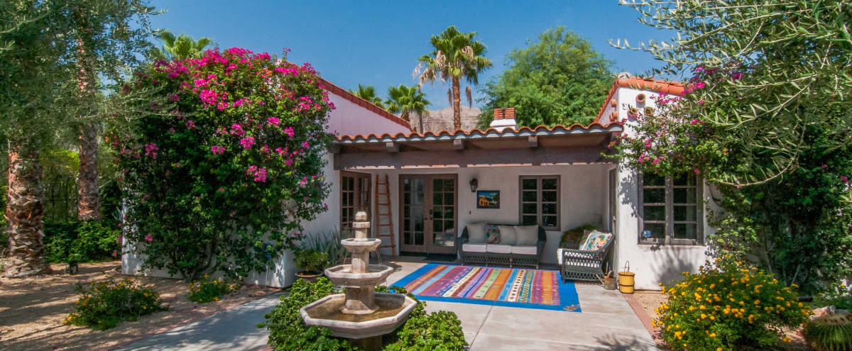 "Magical ""Private Island"" Garden Compound & Authentic 1937 Vibey Spanish Casita in La Quinta Hero Image in undefined, La Quinta, CA"