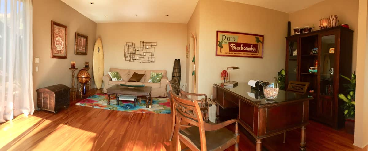TIKI STYLE GUEST HOUSE WITH CITY VIEWS in los angeles Hero Image in Central LA, los angeles, CA