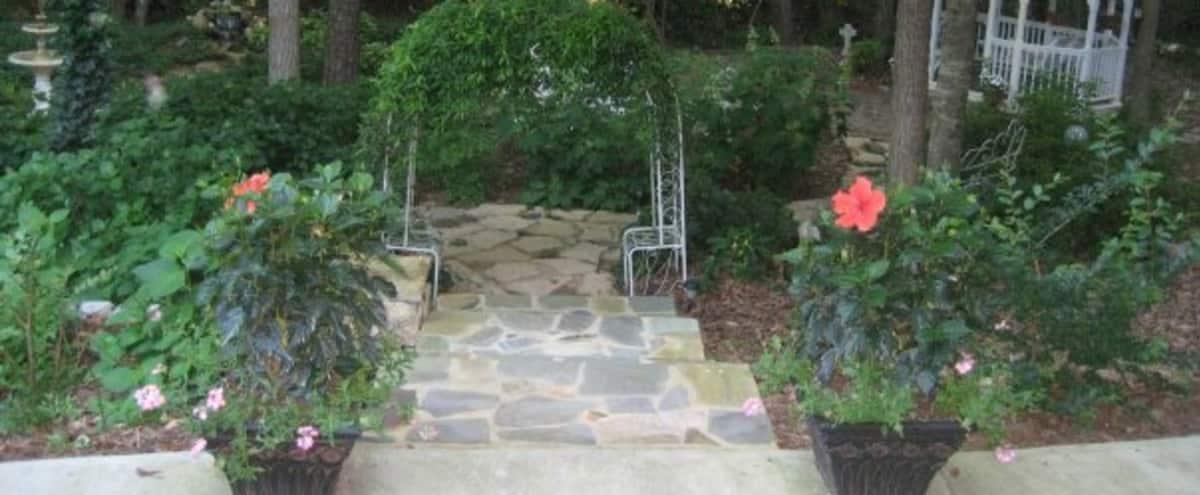 Intimate Garden Wedding Site in Woodstock Hero Image in undefined, Woodstock, GA