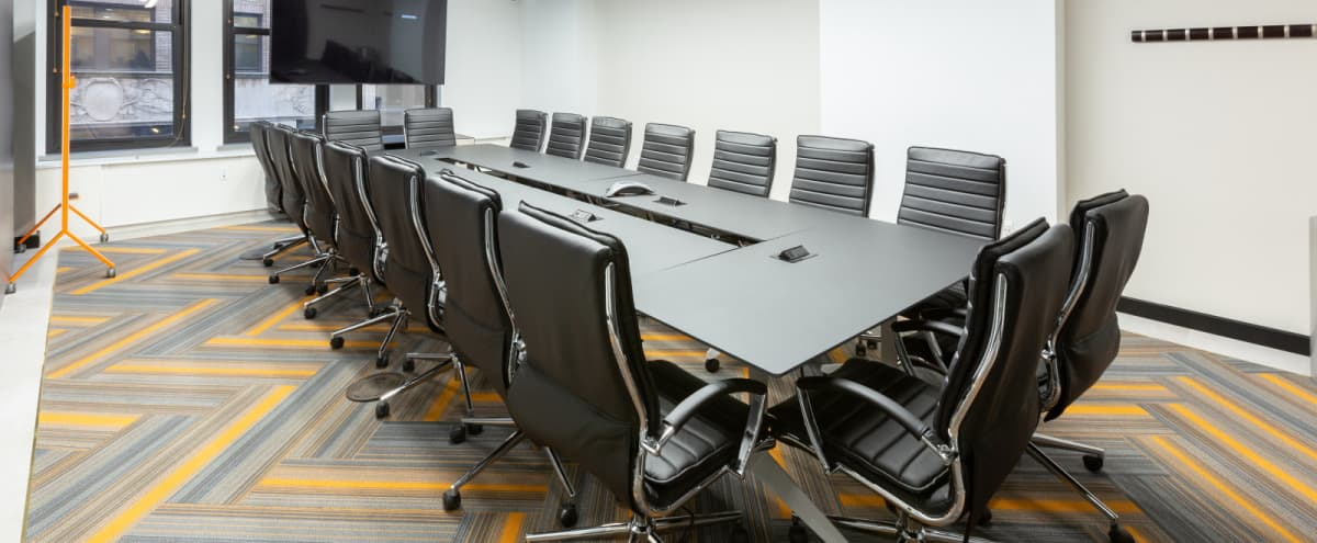Brand New 22Person Meeting Room-Gorgeous-Prime location in New York Hero Image in Midtown, New York, NY