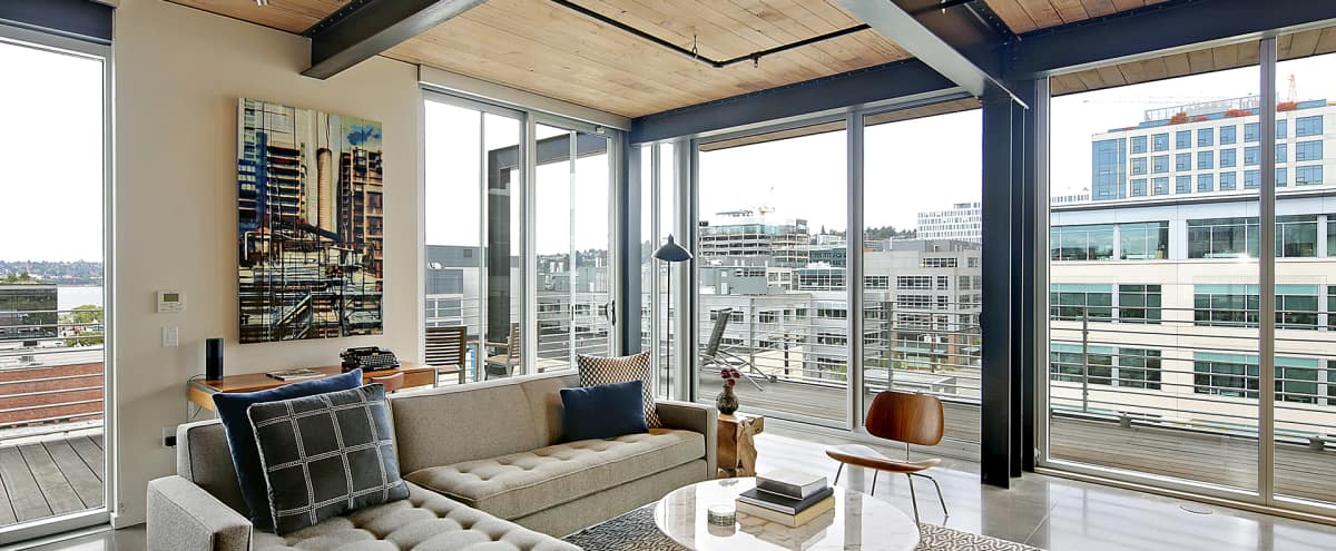 South Lake Union Penthouse with Lake Union View in Seattle Hero Image in South Lake Union, Seattle, WA