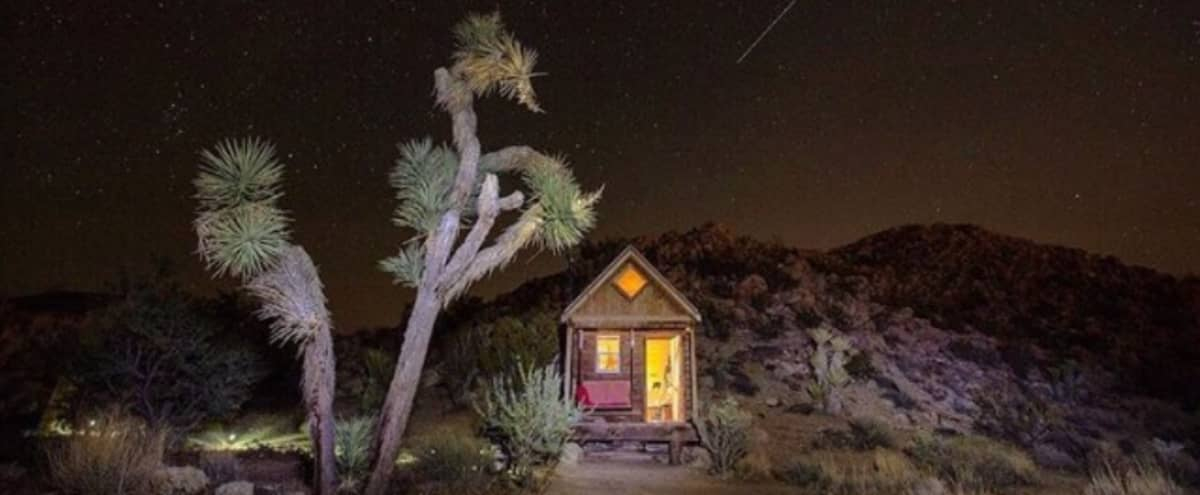 Boho Tiny Cabin @ Boulder's Hideaway in Yucca Valley Hero Image in undefined, Yucca Valley, CA