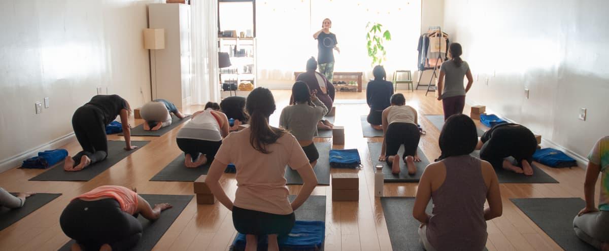 Serene & Open Yoga Studio in Los Angeles Hero Image in undefined, Los Angeles, CA