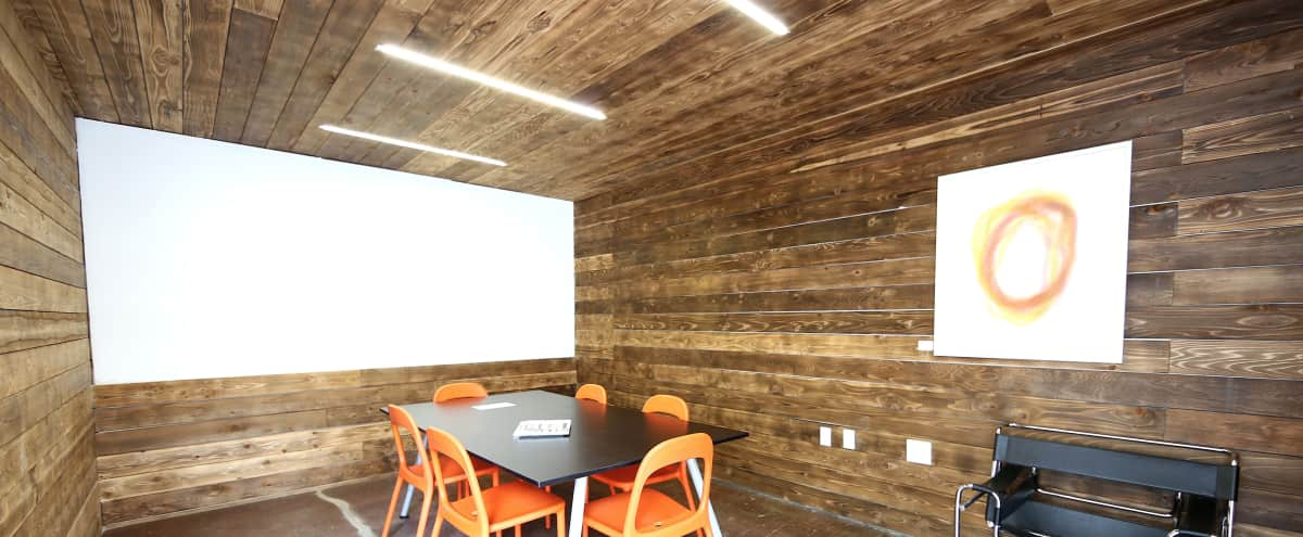 Conference Room on the East Side of Austin in Curated Office Environment in Austin Hero Image in Holly, Austin, TX