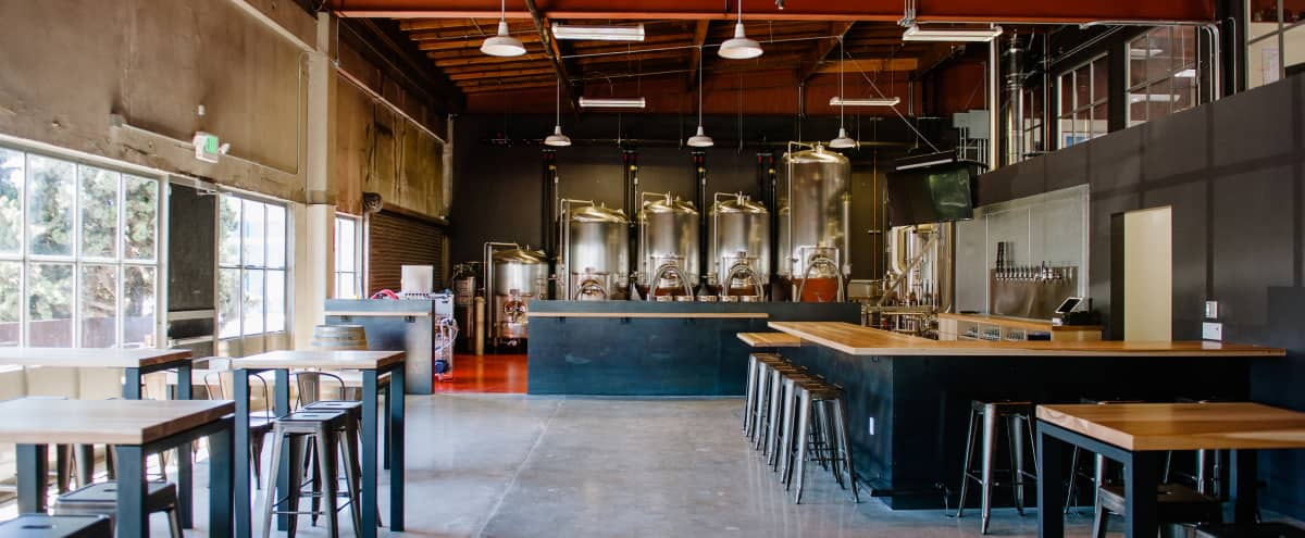 Brewery in Industrial-chic Warehouse in San Francisco Hero Image in Dogpatch, San Francisco, CA