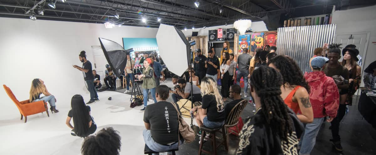 Creative Event Space: Large Open Photography and Videography Rental Studio in Orlando Hero Image in East Central Park, Orlando, FL
