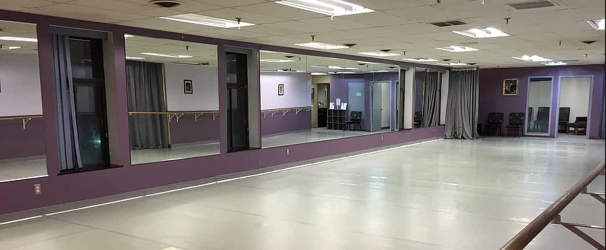 Large Dance studio with Padded Marley floors in Edina Hero Image in Golden Triangle, Edina, MN